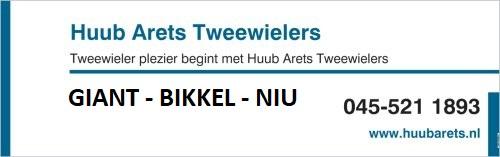Logo Huub Arets Tweewielers voor Ontdek de e-bike