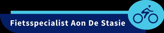 Logo Fietsspecialist Aon De Stasie voor Ontdek de e-bike