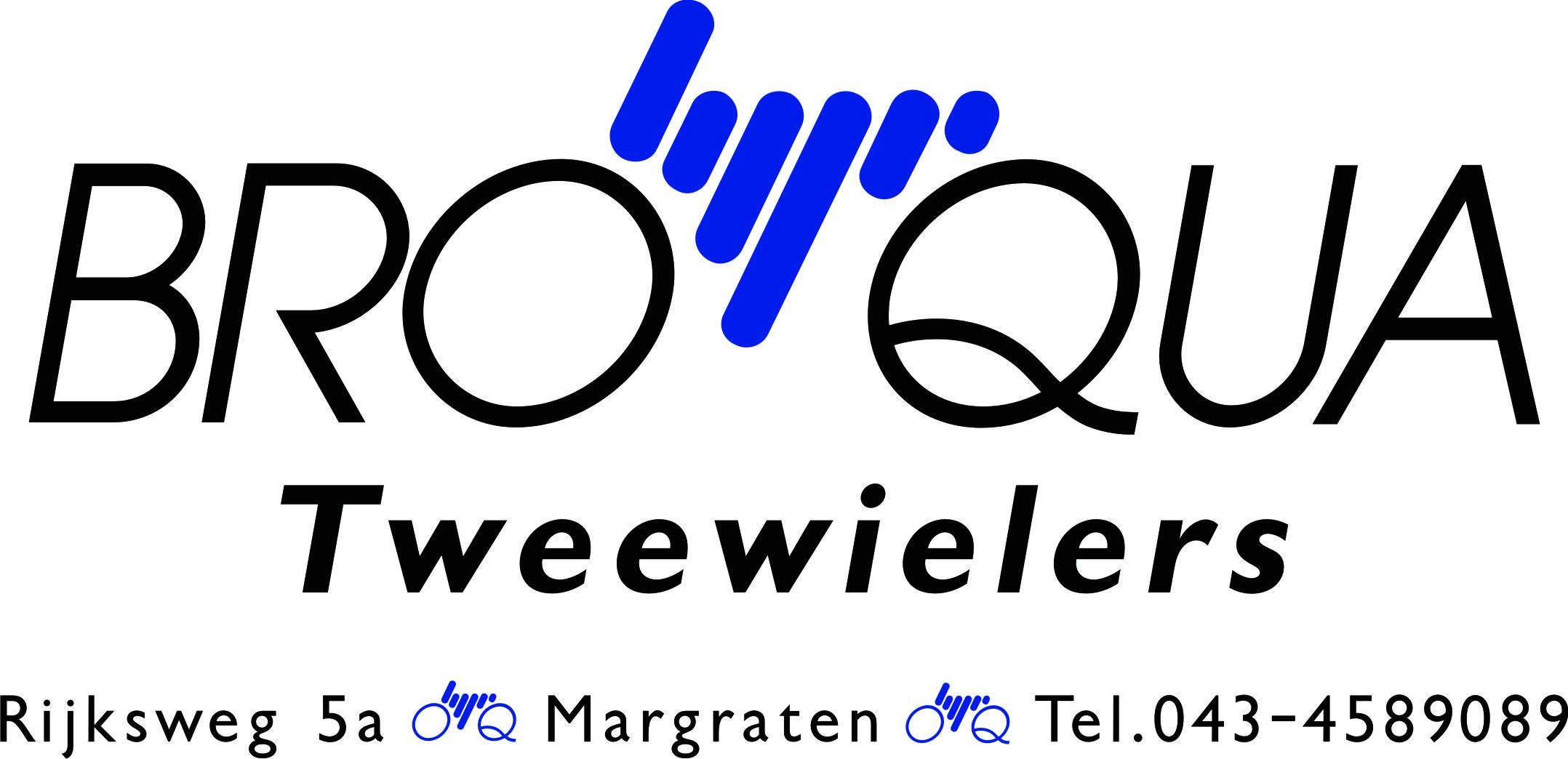 Logo Broqua Tweewielers voor Ontdek de e-bike