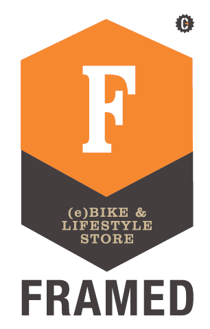 Logo Framed voor Ontdek de e-bike