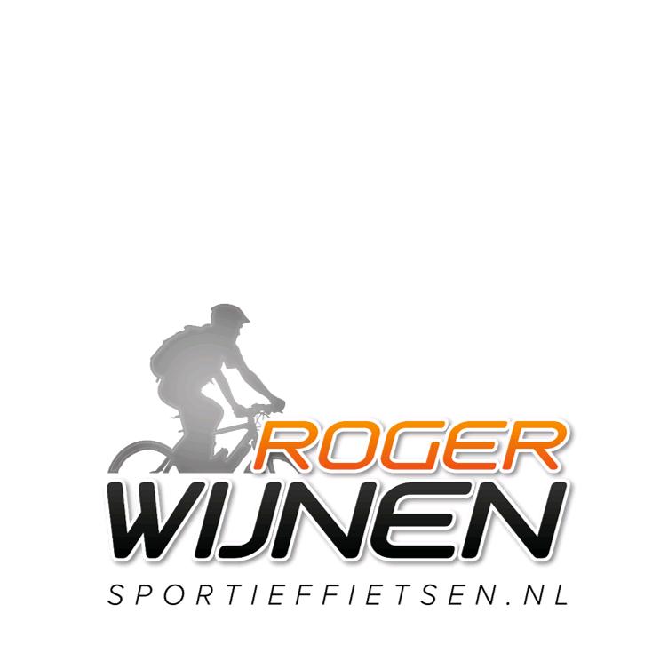 Logo Roger Wijnen sportief fietsen voor Ontdek de e-bike