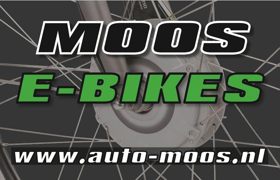 Logo Moos E-bikes voor Ontdek de e-bike
